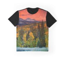 Autumn Dawn Over Kebler Pass Graphic T-Shirt