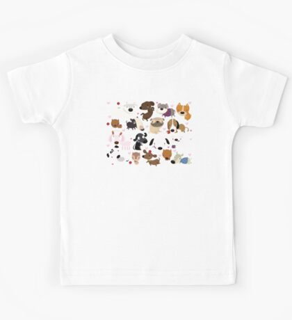 Dog pattern Kids Clothes