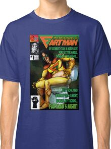 the Adventures of Fartman Classic T-Shirt