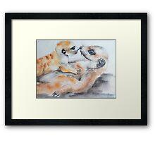 A MOTHER'S LOVE Framed Print