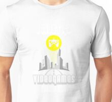 I Must Go Video Games Need Me T-Shirt Unisex T-Shirt