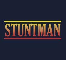 Wonderful Colorful Stuntman Kids Tee