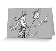 Sound of the Wind Greeting Card