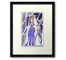 Moiraine Sedai Framed Print
