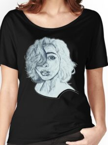 Rainy Mind Women's Relaxed Fit T-Shirt