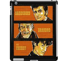 Sandshoes, Grandad & Chinny iPad Case/Skin