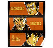 Sandshoes, Grandad & Chinny Poster