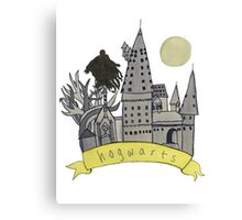 hogwarts sketch Canvas Print