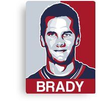 tom brady Canvas Print