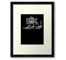 Muhammad Ali Quote - I will show you how great I am  Framed Print