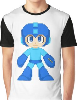 Megaman Pixel Cuties - Megaman Graphic T-Shirt
