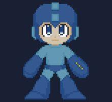 Megaman Pixel Cuties - Megaman One Piece - Long Sleeve