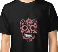 Red Vintage Skull T-Shirt Classic T-Shirt