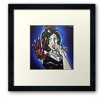 The urge Framed Print