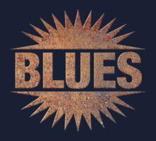 Wonderful Rusty Blues Kids Tee