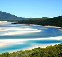 Hills Inlet Whitehaven - B  by THERESA DUONG