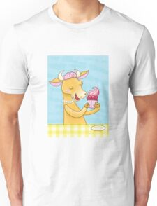 Cow and Cake 1 Unisex T-Shirt