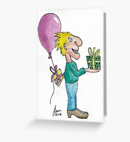 Gift for you - and one in reserve Greeting Card
