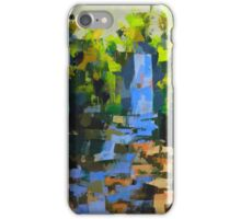 Falls in the woods iPhone Case/Skin