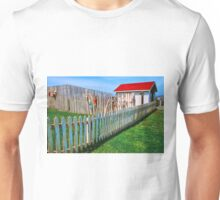 FENCE AND SHED Unisex T-Shirt