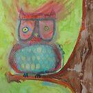 Hipster Ass Owl by Lacey  Eidem