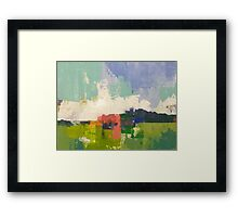 Field 091 Framed Print