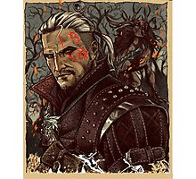 The Witcher - Artwork Photographic Print