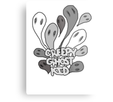 creepy ghost kid Metal Print