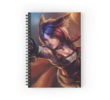 Ahri - League Of Legends Spiral Notebook