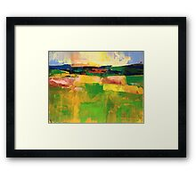 Field 902 Framed Print