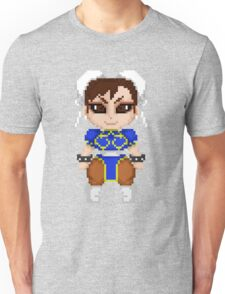 Street Fighter Pixel Cuties - Chun-Li Unisex T-Shirt