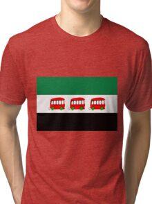 new FSA flag - Syrian Revolution Flag Syrian Republic  Tri-blend T-Shirt