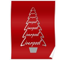 Liverpool Christmas Gifts & Clothes Poster
