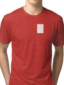 hit by a deer Tri-blend T-Shirt