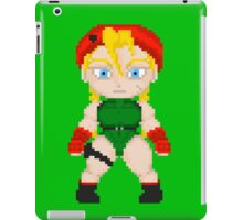 Street Fighter Pixel Cuties - Cammy White iPad Case/Skin