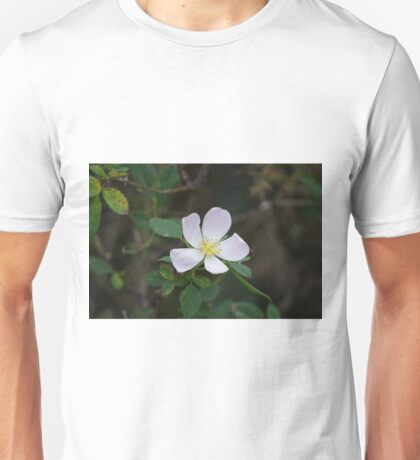 Dog Rose Unisex T-Shirt