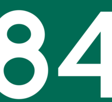 CA-84 - La Honda Sticker