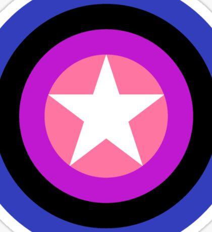 Pride Shields - Genderfluid Sticker