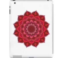 Pink/Red Flower iPad Case/Skin