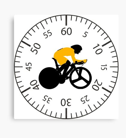 Time Trial - Race Against the Clock Canvas Print