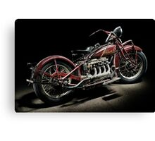 Red Indian Four Canvas Print