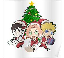 anime @ christmas Poster