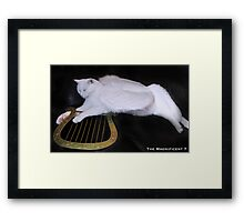 Junior and his lyre Framed Print
