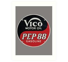 Vico Motor Oil Art Print