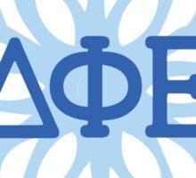Snowflake Greek DPHIE Sticker