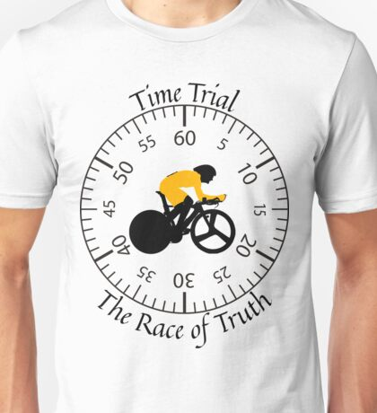 Time Trial - Race Against the Clock Unisex T-Shirt