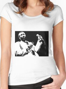Silky Soul Singer Women's Fitted Scoop T-Shirt
