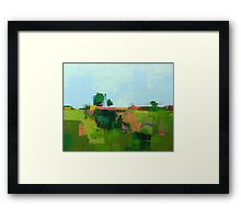 Field 963 Framed Print