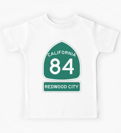 CA-84 - Redwood City Kids Tee