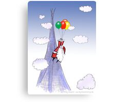 ShardArt A Christmas Visitor from Tony Fernandes Canvas Print